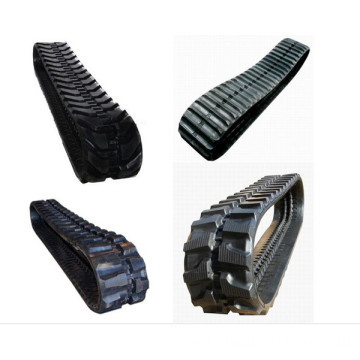 Rubber track for mini excavator